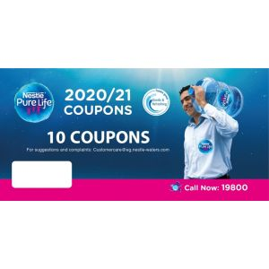Nestlé ® Pure Life® 10 Coupon booklet